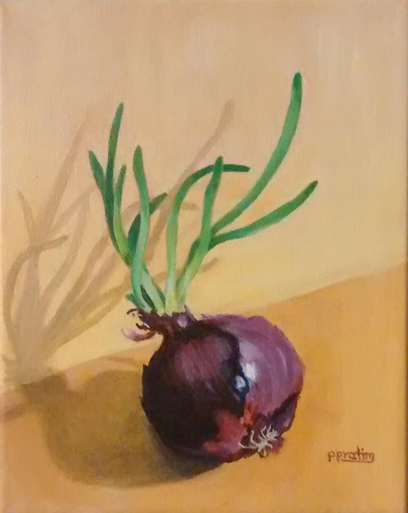"""""""breaking out"""" original fine art by Pratima Patel"""