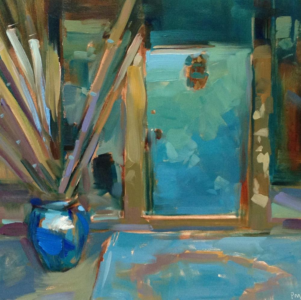 """Verdigris"" original fine art by Patti McNutt"
