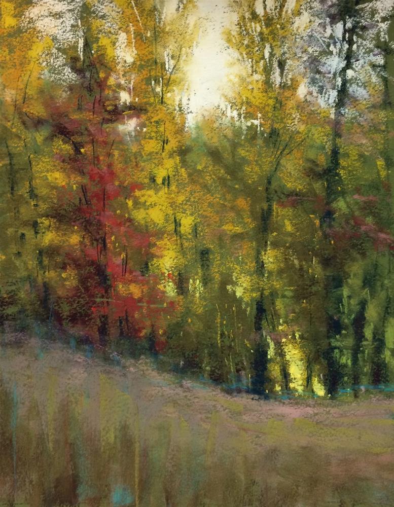 """""""Wandering"""" original fine art by Marla Baggetta"""