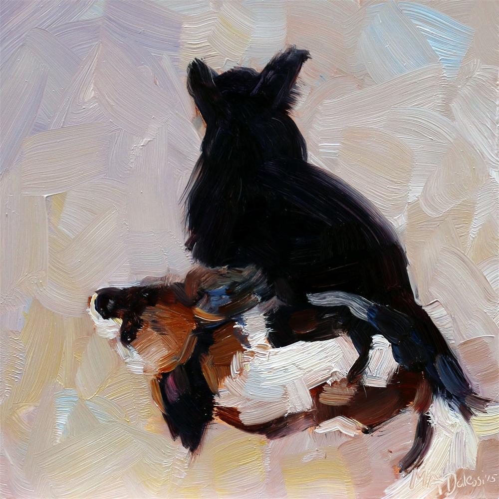 """Nikki"" original fine art by Miranda Dalessi"