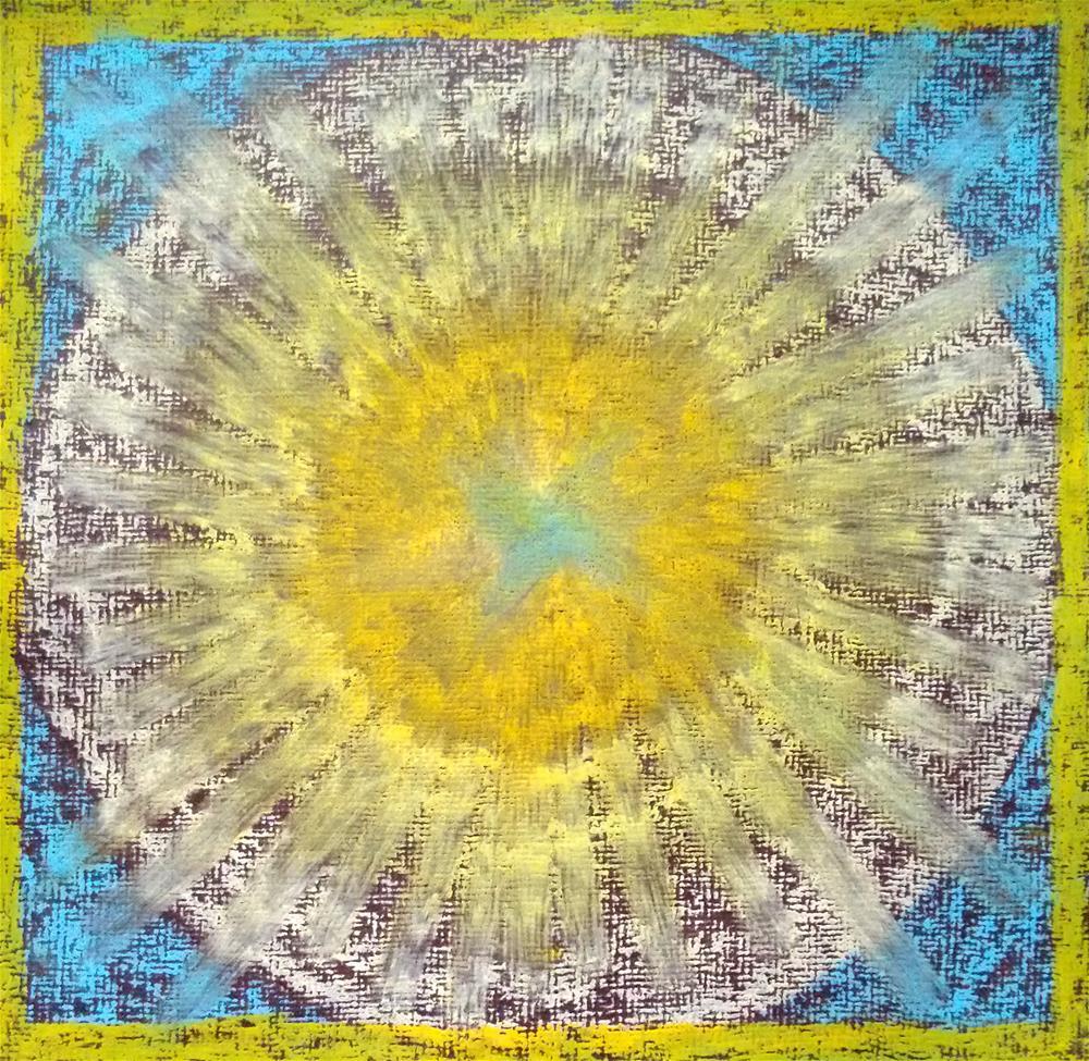 """""""Grounding Mandala"""" original fine art by Adéla Svobodová"""