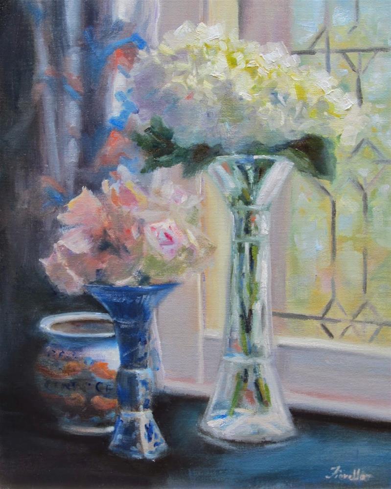"""""""Window View"""" original fine art by Pat Fiorello"""