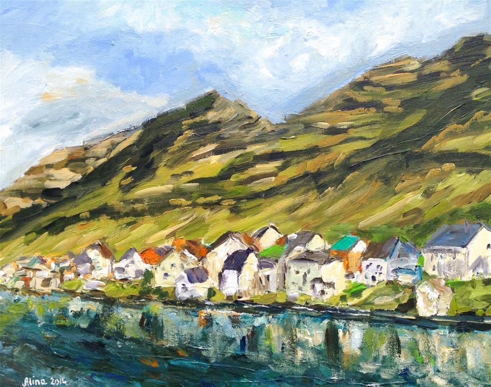 """""""Faroe Islands"""" original fine art by Alina Vidulescu"""