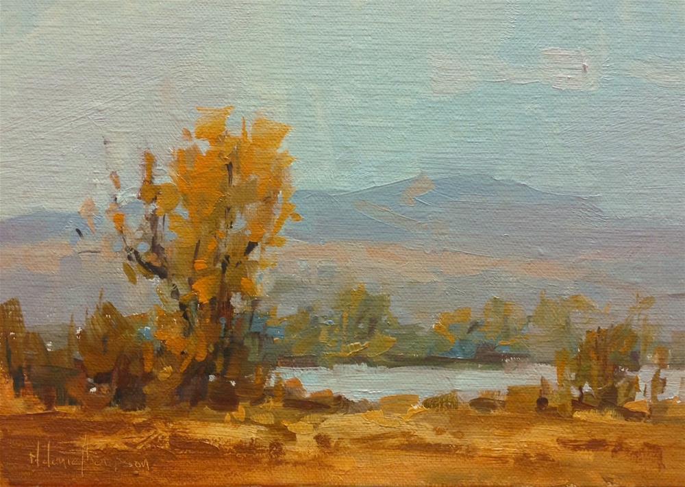 """""""Golden"""" original fine art by Melanie Thompson"""