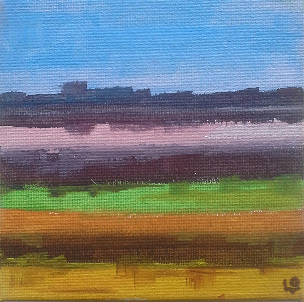 """""""Halcyon"""" original fine art by Leanne Owen"""