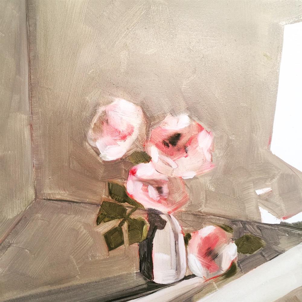 """""""451 Auld Lang Syne (Old Long Since)"""" original fine art by Jenny Doh"""