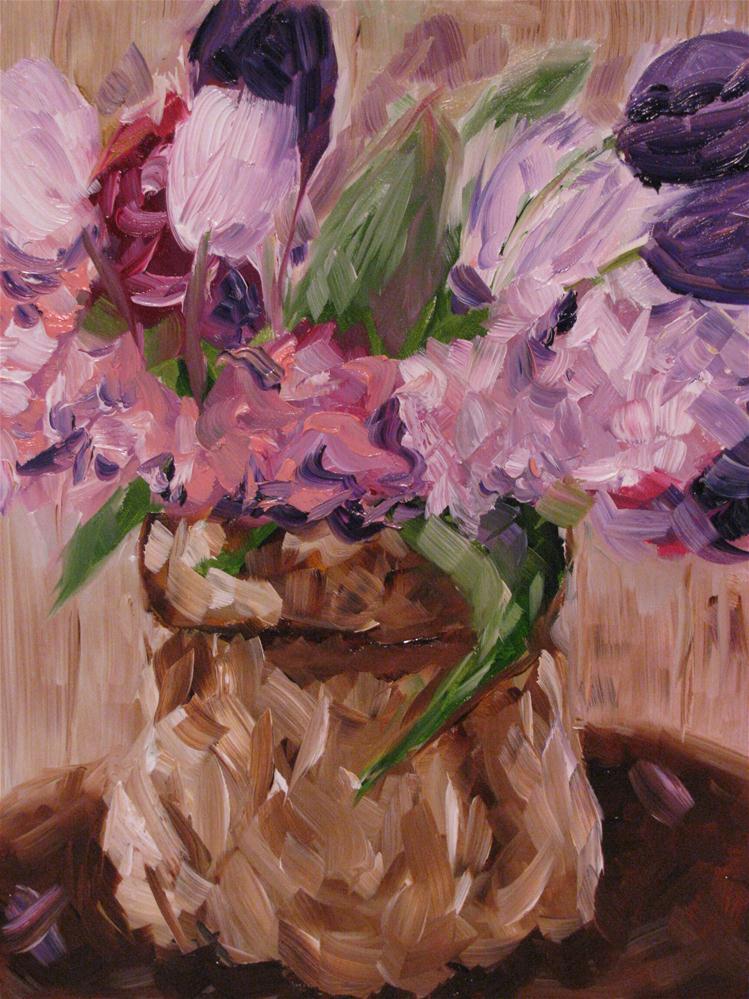 """Spring Bouquet"" original fine art by Susan Elizabeth Jones"