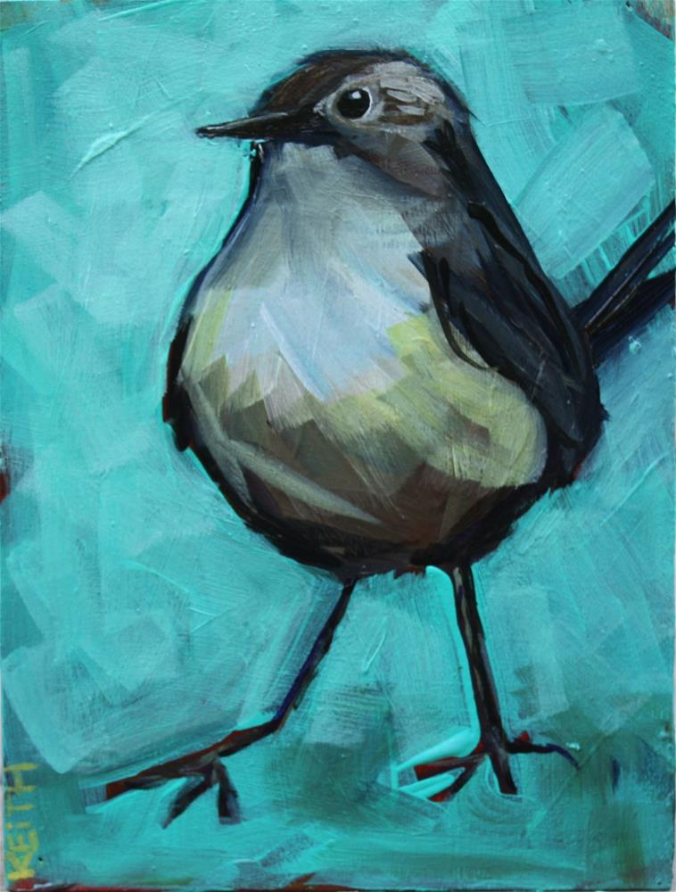 """Wren"" original fine art by Kandice Keith"