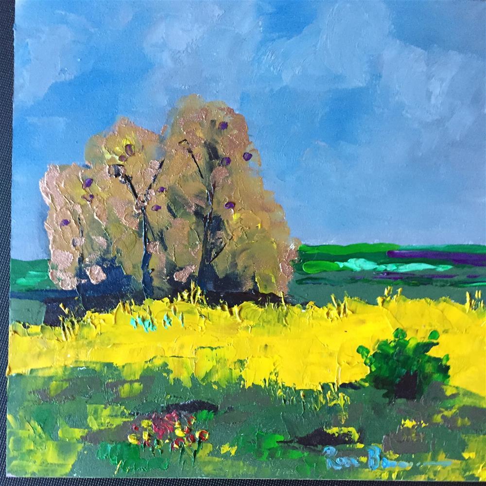 """The Copper Tree"" original fine art by Rose Brenner"