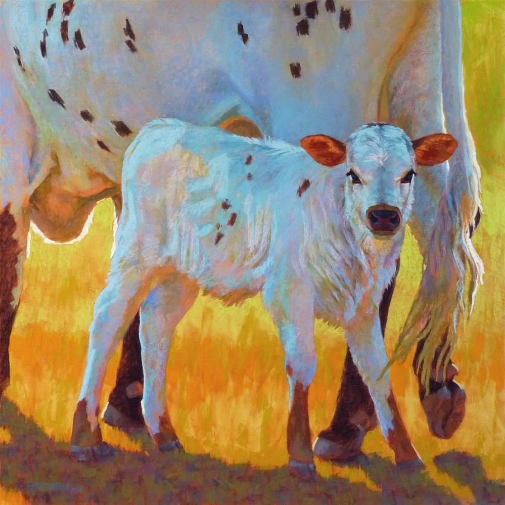 """The Quiet Side of White"" original fine art by Rita Kirkman"