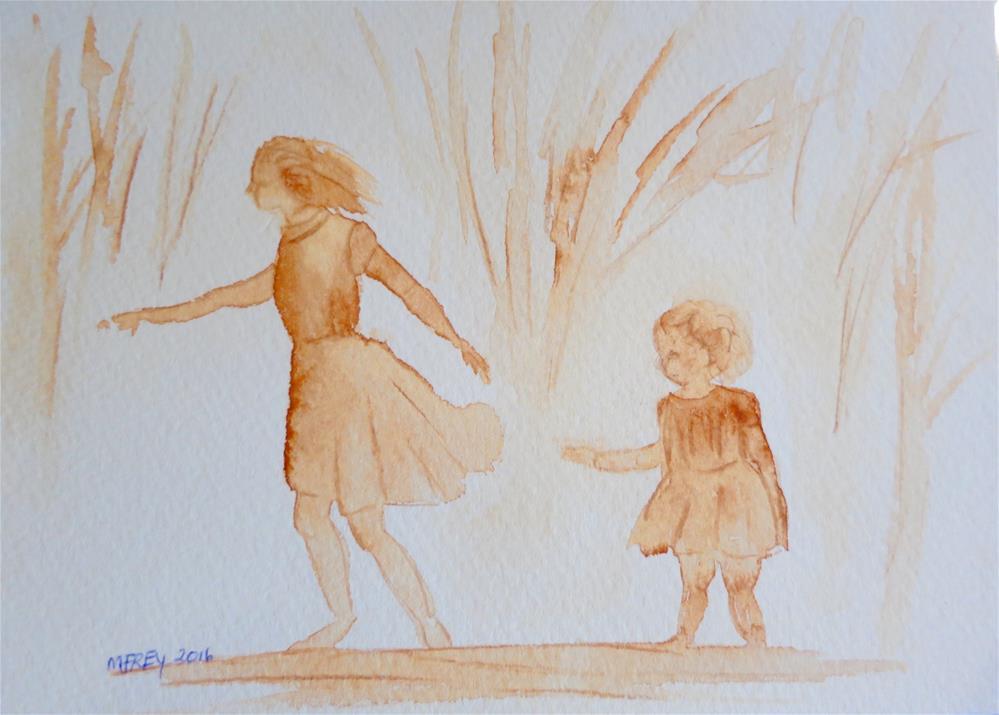 """Let's Go 0106"" original fine art by Michelina Frey"