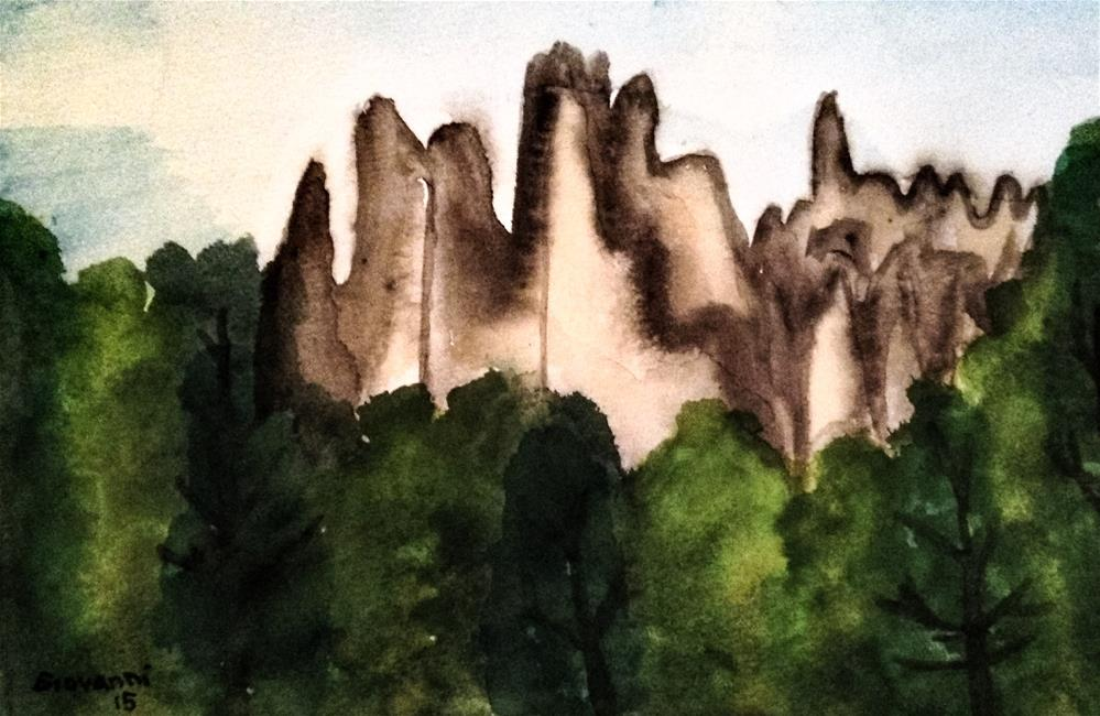 """Black Hills, South Dakota"" original fine art by Giovanni Antunez"