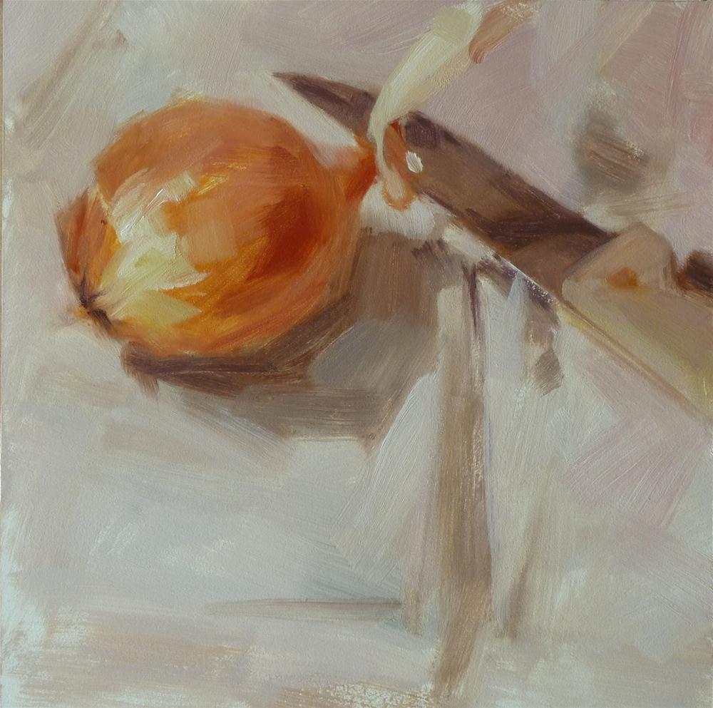 """""""Hello Onion"""" original fine art by Ron Ferkol"""