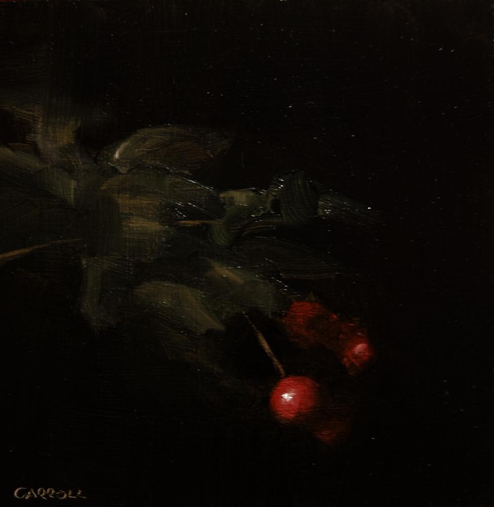 """""""Red Berry"""" original fine art by Neil Carroll"""