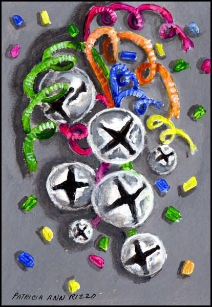 """""""Celebrate!"""" original fine art by Patricia Ann Rizzo"""