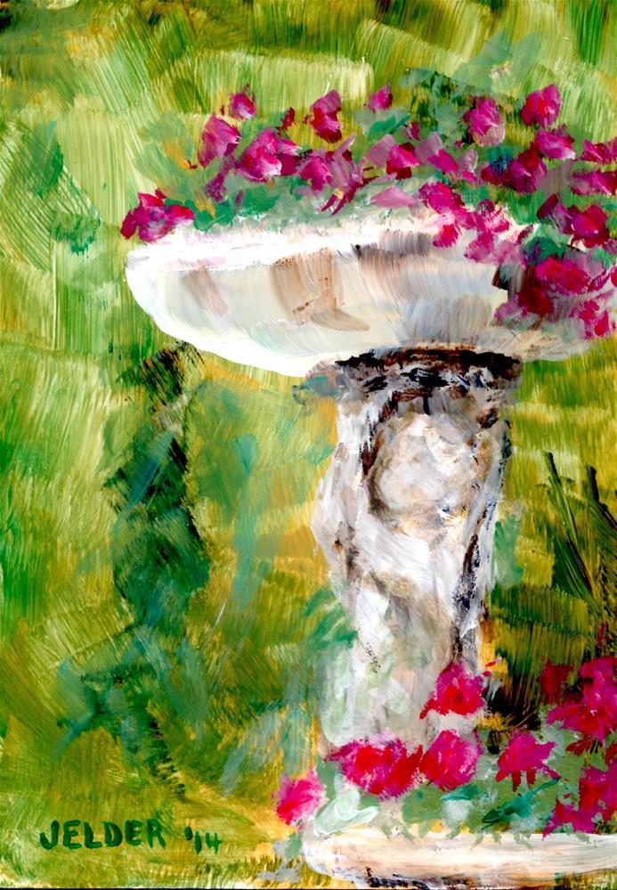 """Paris No. 63"" original fine art by Judith Elder"