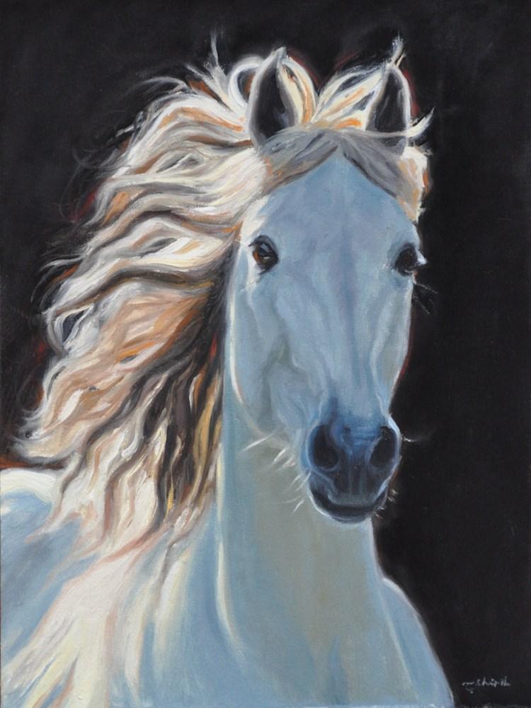 """""""Dreams of Pegasus"""" original fine art by Tahirih Goffic"""