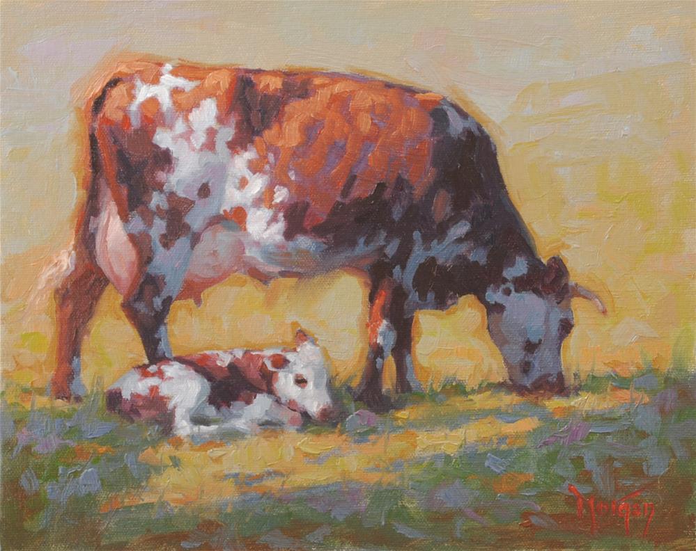 """Seeing Spots"" original fine art by Cecile W. Morgan"