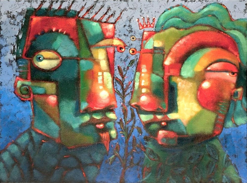 """Rusted Love"" original fine art by Brenda York"