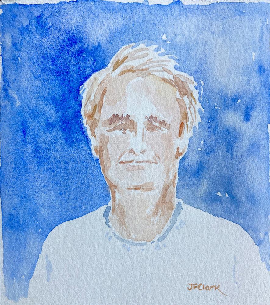 """Tim, study"" original fine art by Judith Freeman Clark"