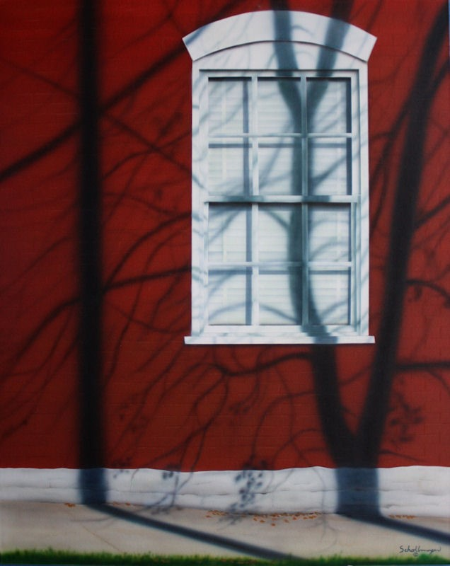 """When October Goes"" original fine art by Fred Schollmeyer"
