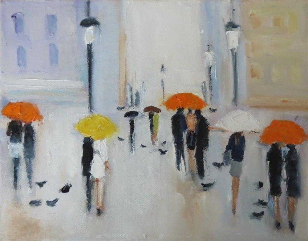 """couples have to talk"" original fine art by Astrid Buchhammer"