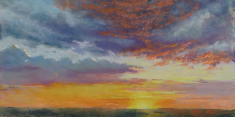 """Days End"" original fine art by Denise Beard"