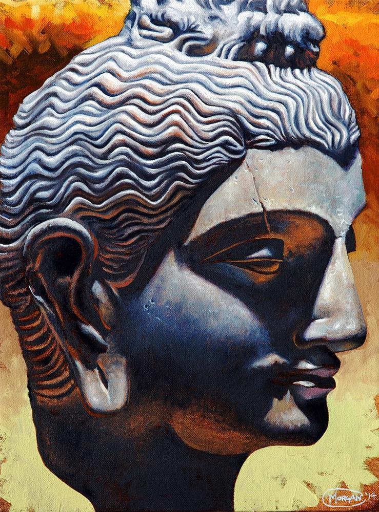 """Relic The Profile"" original fine art by Maurice Morgan II"