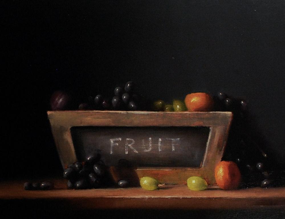 """Fruit"" original fine art by Neil Carroll"
