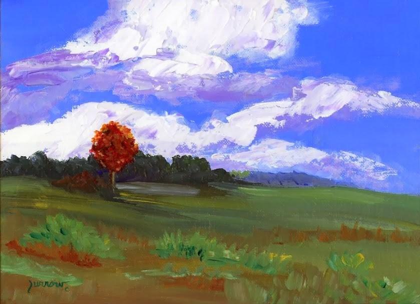 """Parkway No.One - Near Floyd, Va."" original fine art by Sue Furrow"
