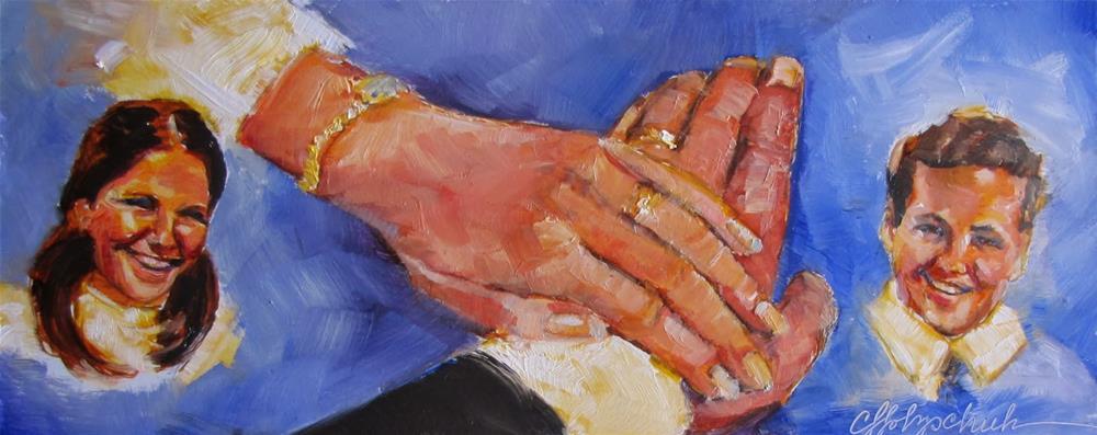 """Happy Anniversary"" original fine art by Christine Holzschuh"