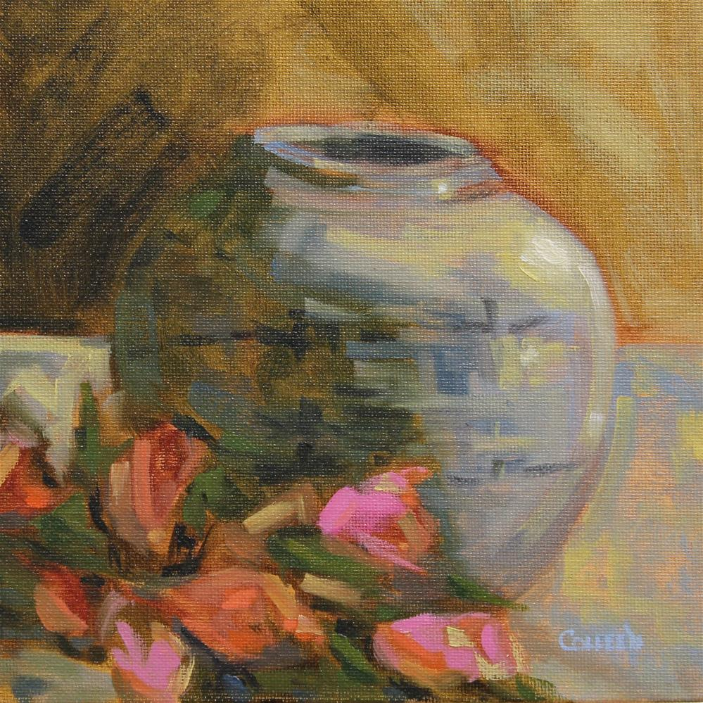 """A Little Vase"" original fine art by Colleen Parker"