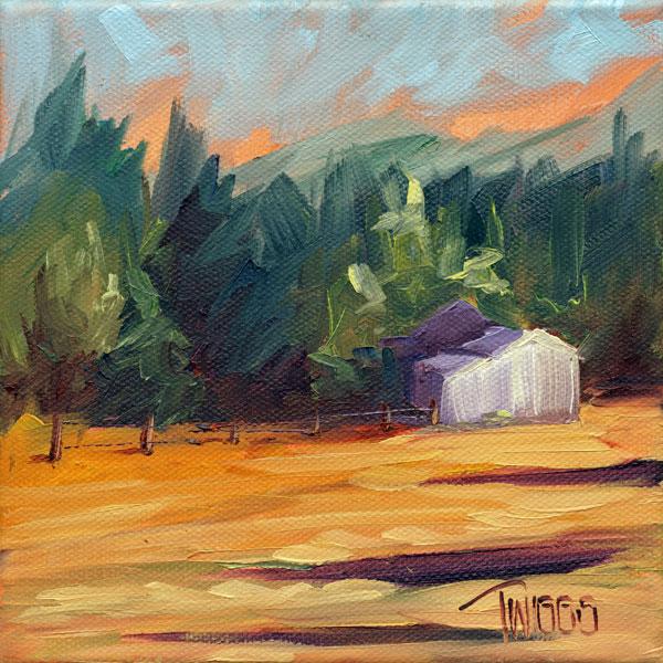 """Landscape 2"" original fine art by Lori Twiggs"