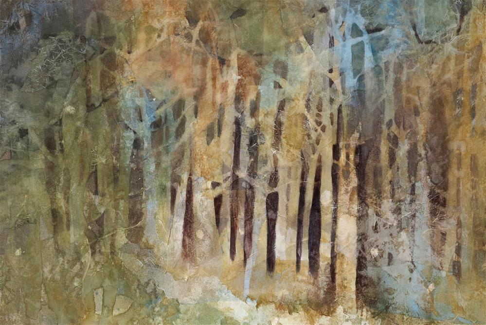 """""""Patch of Light"""" original fine art by Julie Crouch"""