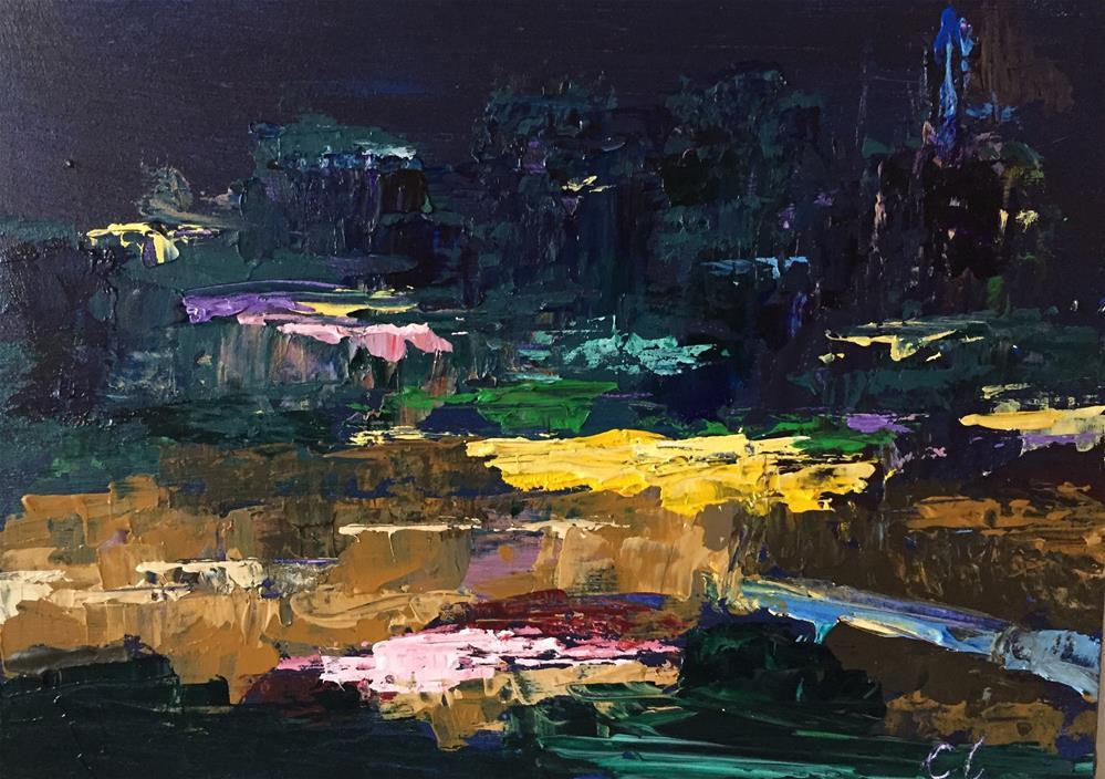 """South on Speer"" original fine art by Cheree Apalona Lueck"