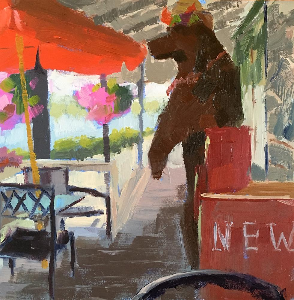 """General Store"" original fine art by Tracy Wise"