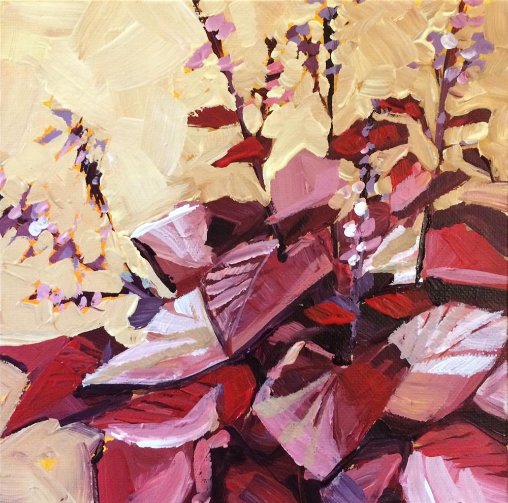 """Aging Garden"" original fine art by Teddi Parker"