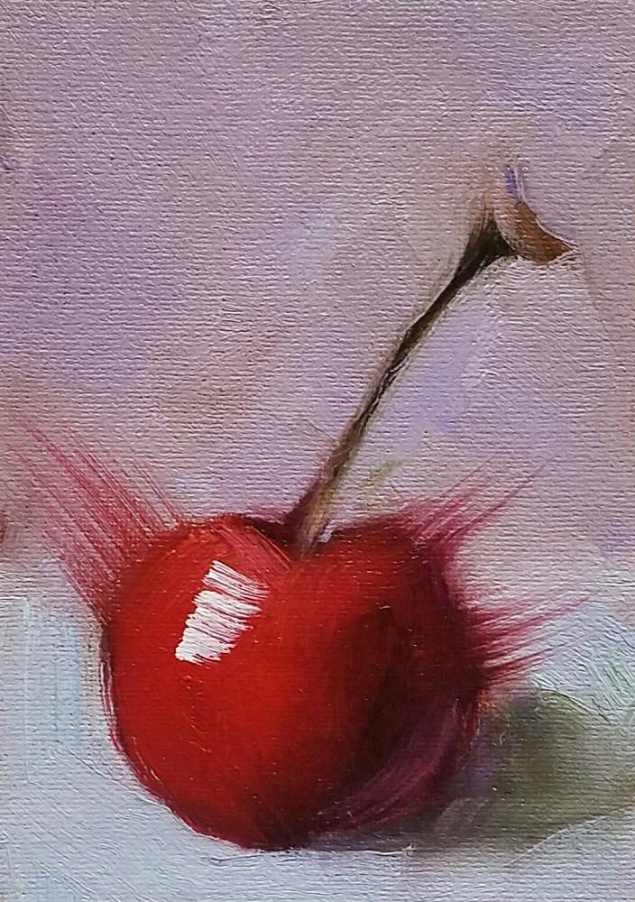 """""""Cherry 117"""" original fine art by Cindy Haase"""