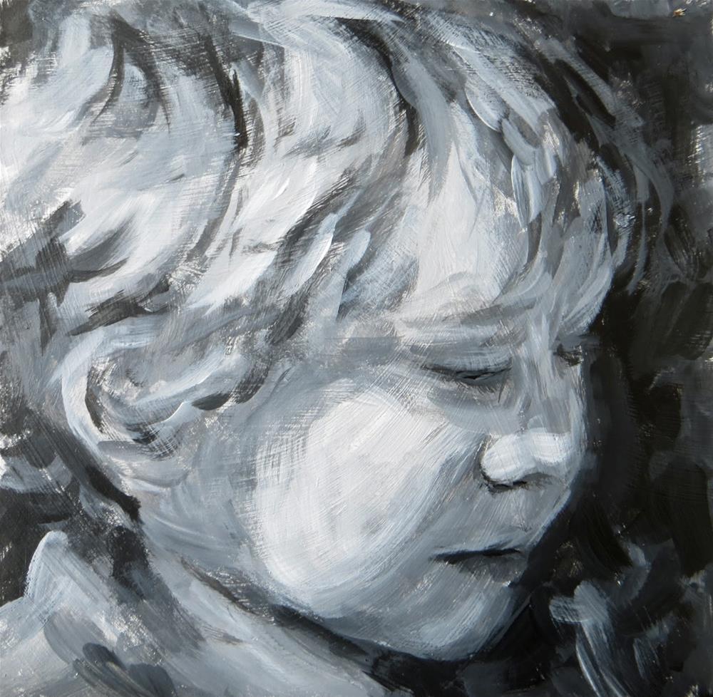 """Alan - value study"" original fine art by Tammie Dickerson"