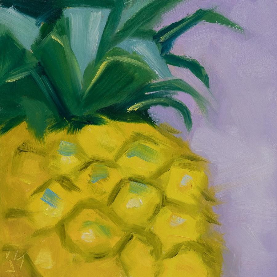 """""""Delicious"""" original fine art by Johnna Schelling"""