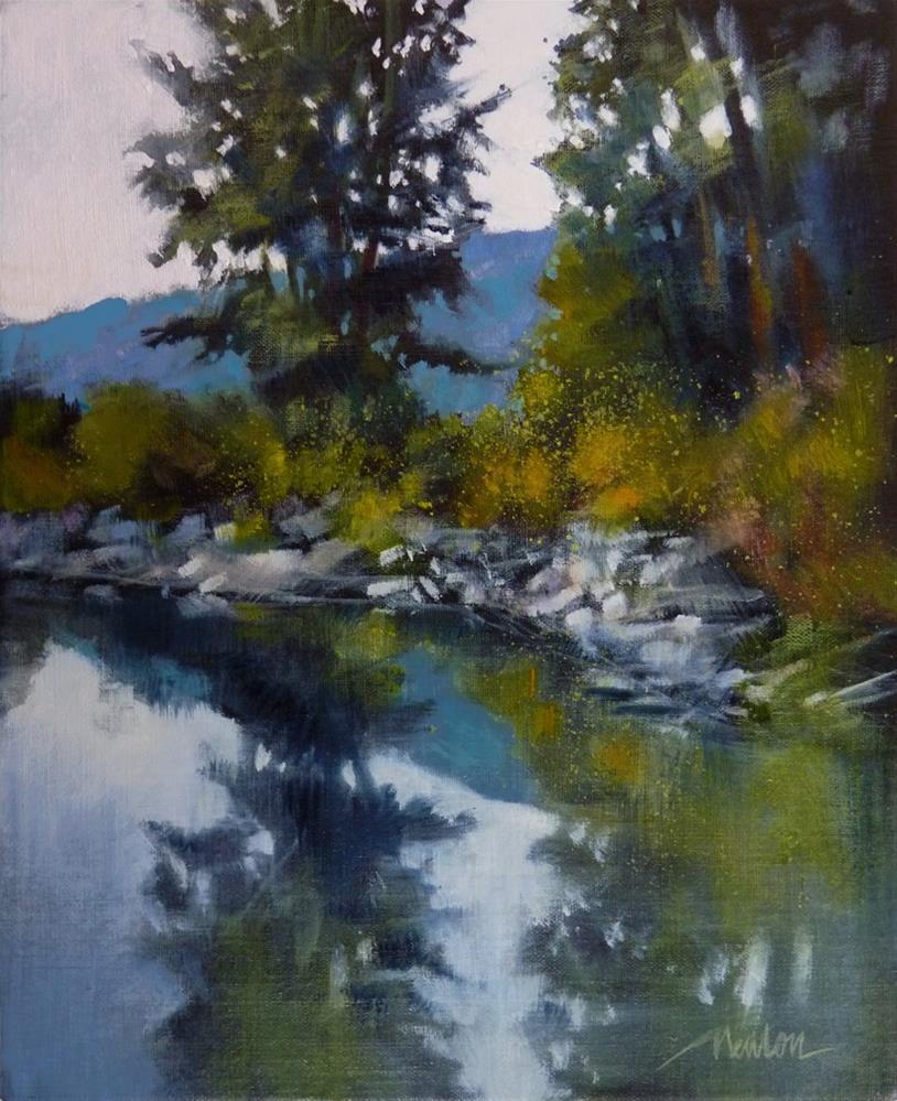 """""""Leavenworth, WA"""" original fine art by Barbara Benedetti Newton"""