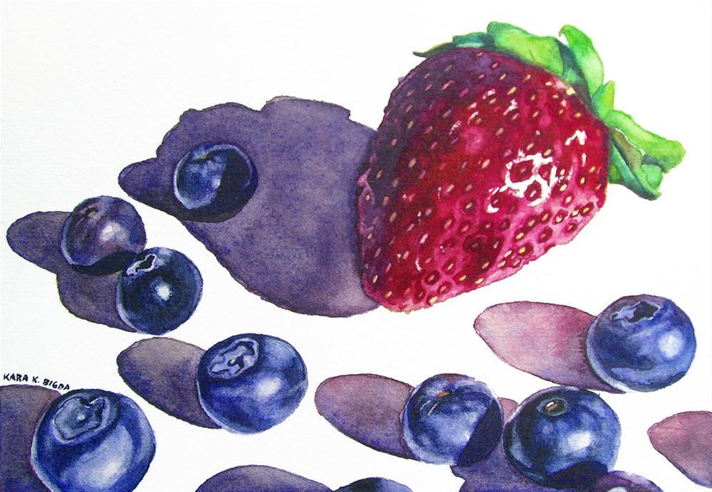 """Shadows"" original fine art by Kara K. Bigda"