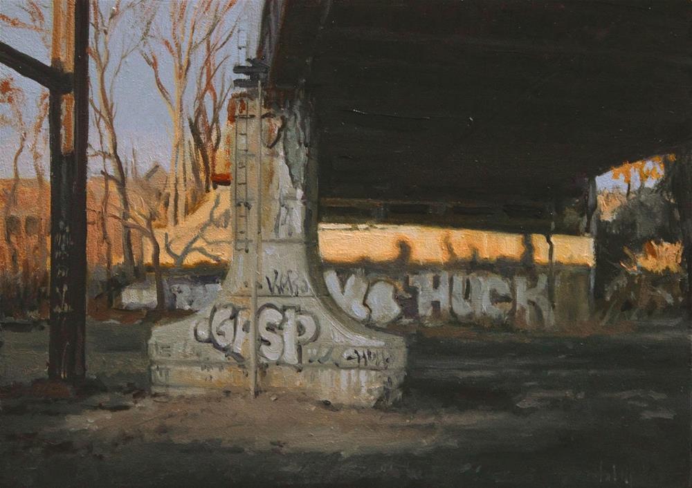 """Last Gasp"" original fine art by Ski Holm"