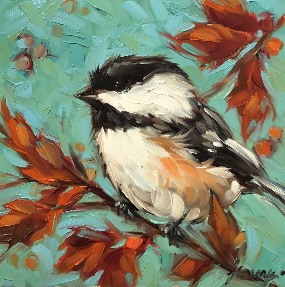 """""""Fall"""" original fine art by Andrea Lavery"""