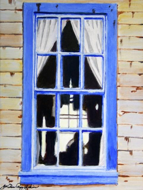 """""""Outside Looking In"""" original fine art by JoAnne Perez Robinson"""