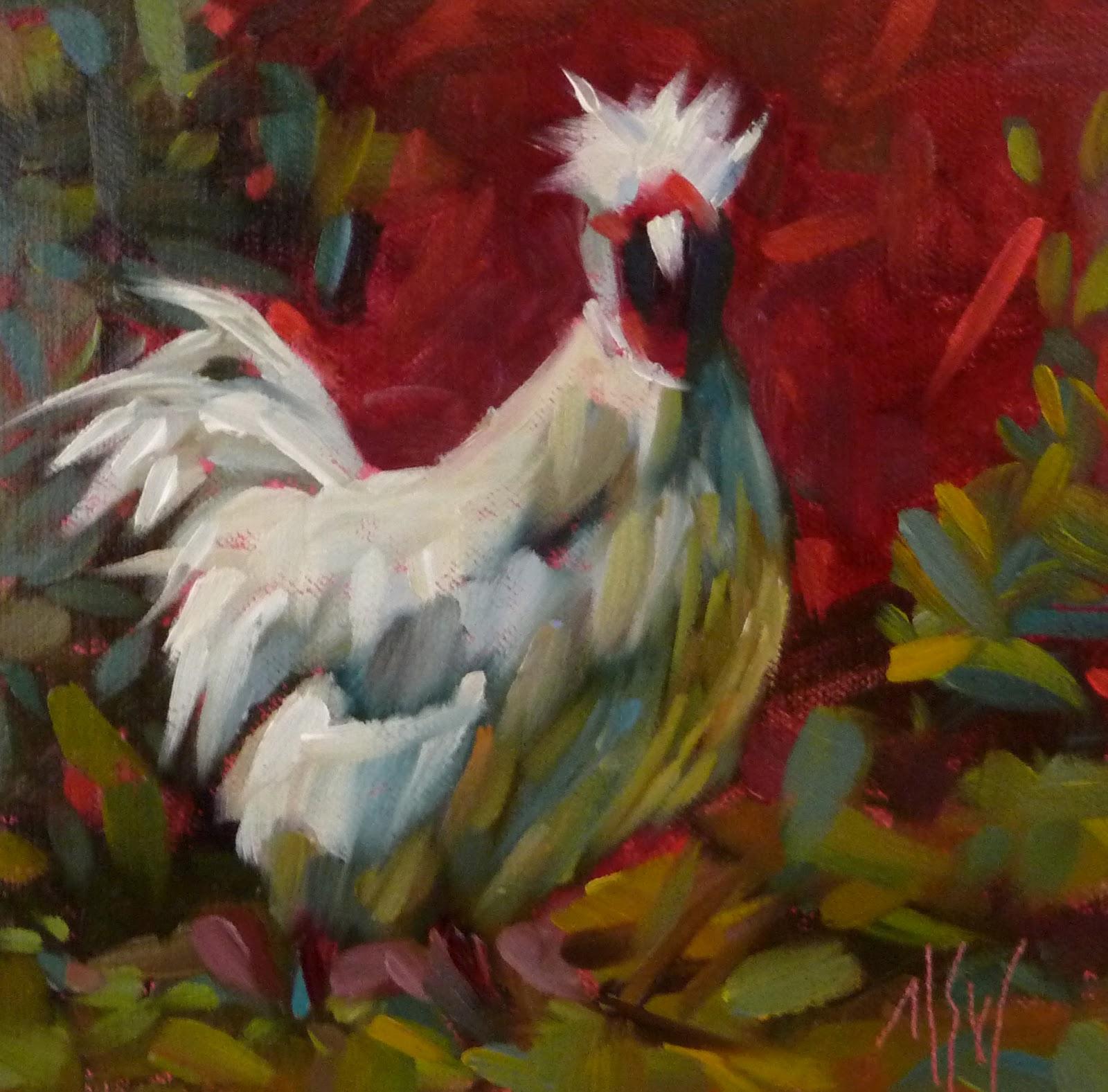 """""""Today! Studio Drop In 1-5"""" original fine art by Mary Sheehan Winn"""