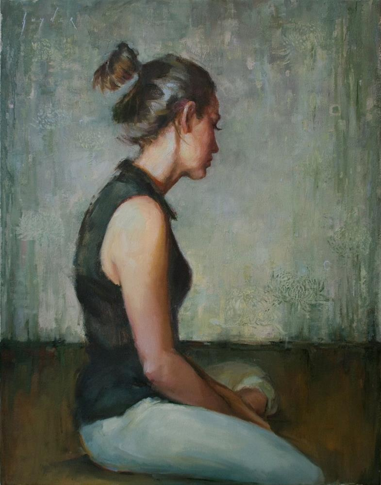 """""""Quietude"""" original fine art by Julie Snyder"""