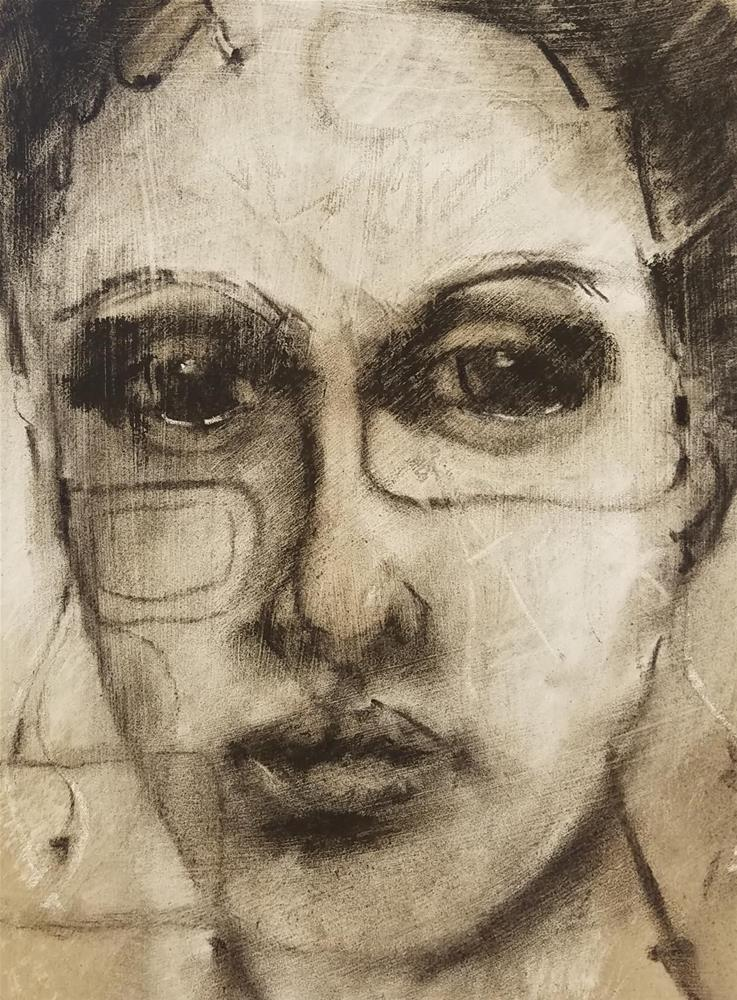 """Adelaide"" original fine art by Cindy Haase"