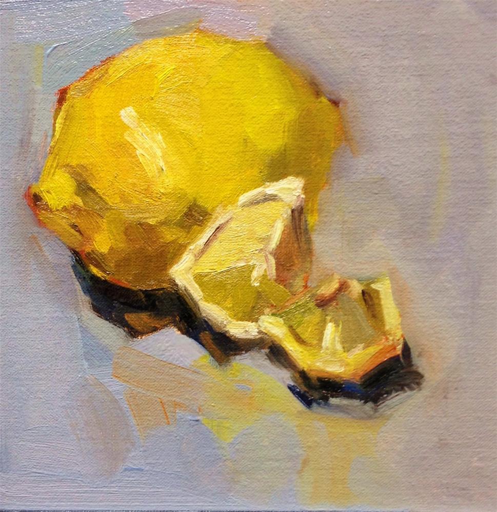 """""""Lemonade"""" original fine art by Laurie Johnson Lepkowska"""