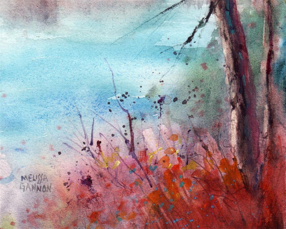 """Natural Zen"" original fine art by Melissa Gannon"